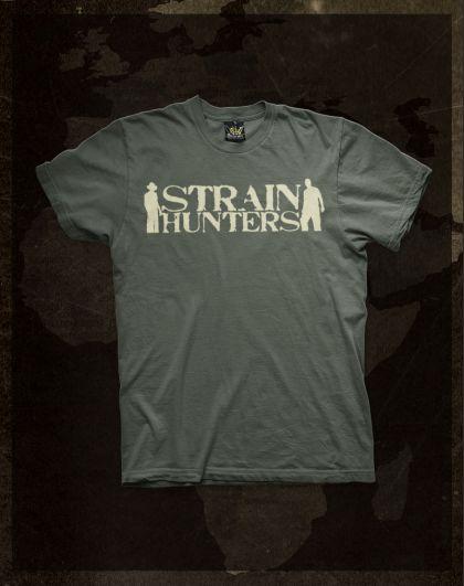 Strain Hunters - Green T-Shirt
