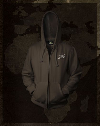 India Expedition -  Brown -  Hoodie with zipper