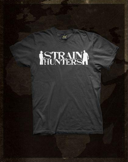 Strain Hunters - White T-Shirt